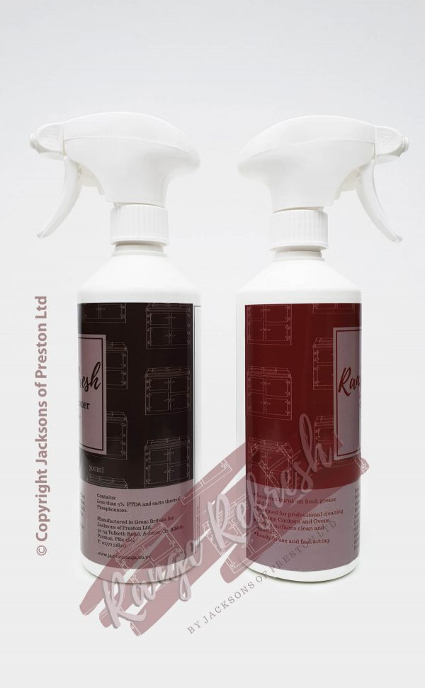 Oven Cleaner and Aluminium Cleaner - Range Refresh by Jacksons of Preston Ltd