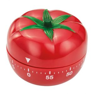 Judge Kitchen Analogue Timer - Tomato