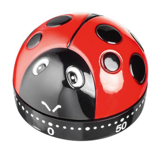 Judge Kitchen Essentials Novelty Timer Ladybird