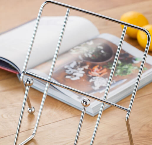 Judge Wireware Cook Book Holder - Propped