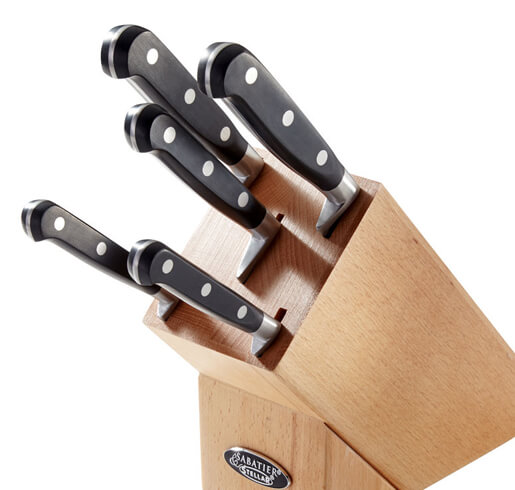 Stellar 5 Piece Knife Block Set