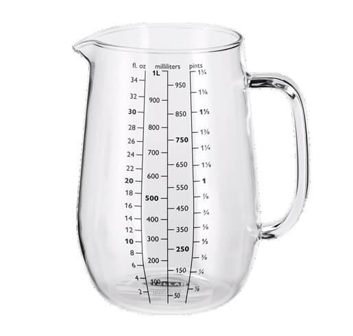 STELLAR Kitchen Measuring Jug - 1 Litre - Jacksons of Preston Ltd